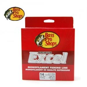 배스프로(BPS) 엑셀 모노필라멘트 1,500yd