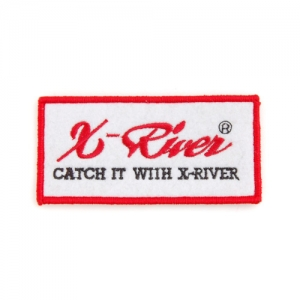 엑스리버(X-River) 로고 패치