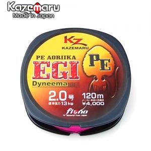 [세일30%] 카제(KAZE) 아오리이카 에깅전용 합사라인 (형광핑크/120m)