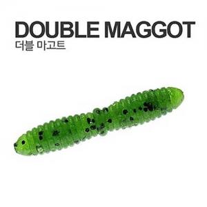 """캣츠크로 더블마고트 1.5"""" 웜 (1팩 14개) -송어,볼락,소형어종"""