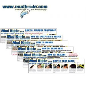 머드홀 스텝바이스텝 인스트럭션 카드세트