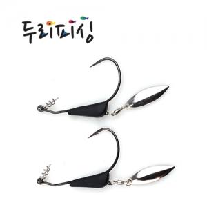 두리피싱 텅스텐 스웜베이트 지그훅 (갈치,광어,우럭용)
