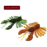 """다미끼 라이코 2.8""""웜 -크로우웜 가재웜 배스웜"""