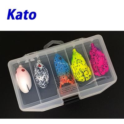 카토 가물치 배스용 프로그 5종세트-MIX (E세트) 개구리 루어