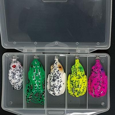 카토 가물치 배스용 프로그 5종세트-MIX (B세트) 개구리 루어