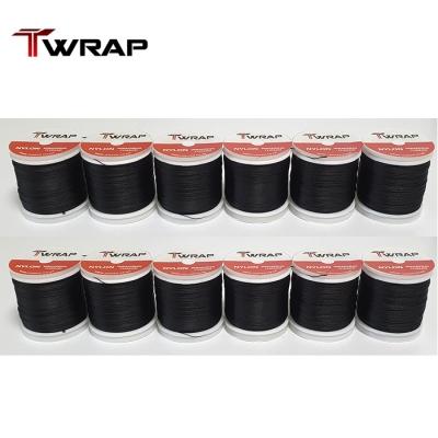 자드락 T-WRAP NC 나일론 블랙 래핑사 12개 키트 - 사이즈 선택