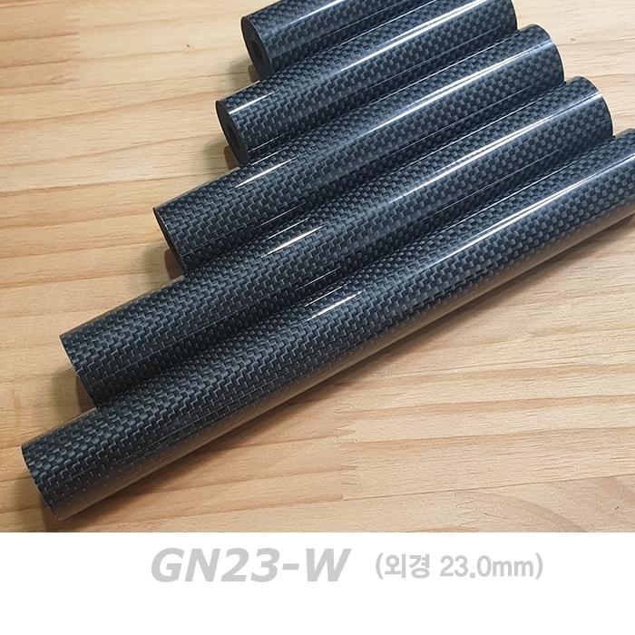 자드락 카보맥스 유광 일자형 공용그립(GN23-W)- 카본+우레탄