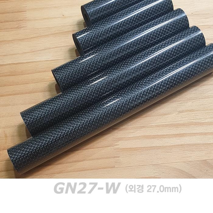 자드락 카보맥스 유광 일자형 공용그립 (GN27-W)- 카본+우레탄