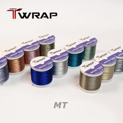자드락 T-WRAP 2톤 메탈릭 래핑사 (MT) - D사이즈, 90m,낱개판매